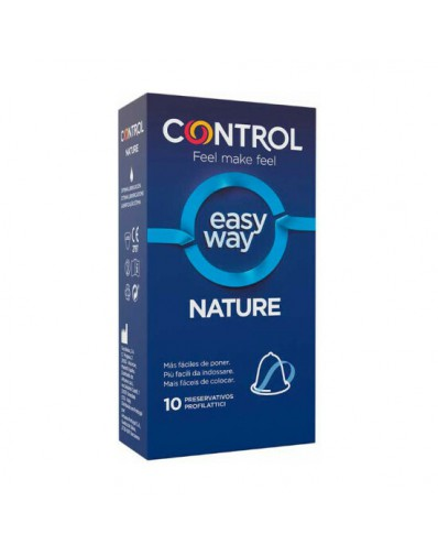 CONTROL PRESERVATIVOS NEW NATURE EASY WAY - 10UDS
