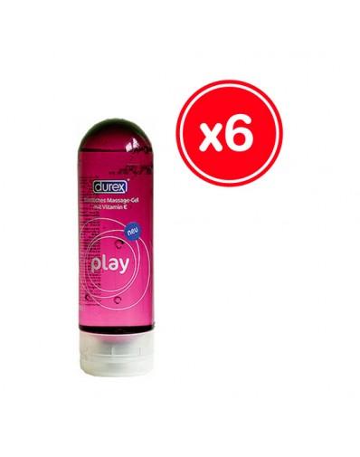 DUREX PLAY MASSAGE 200 ML (6 UDS)