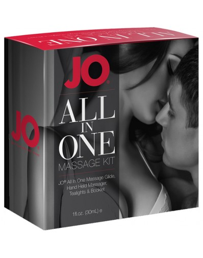 JO ALL IN ONE KIT DE MASAJE BLANCO
