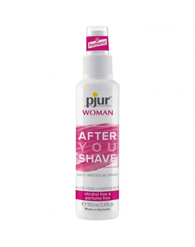 PJUR WOMAN AFTER SHAVE SPRAY 100ML