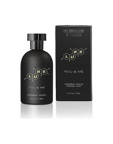 LURE BLACK LABEL FOR YOU & ME PERFUME FEROMONAS UNISEX 74ML