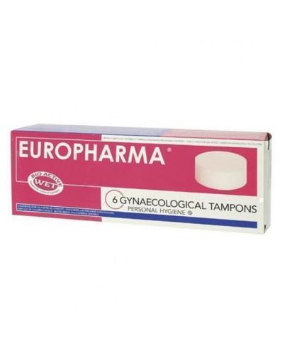 EUROPHARMA TAMPONES (6 Unid)