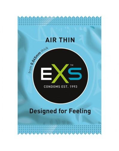 EXS AIR THIN - SIN OLOR - 144 PACK