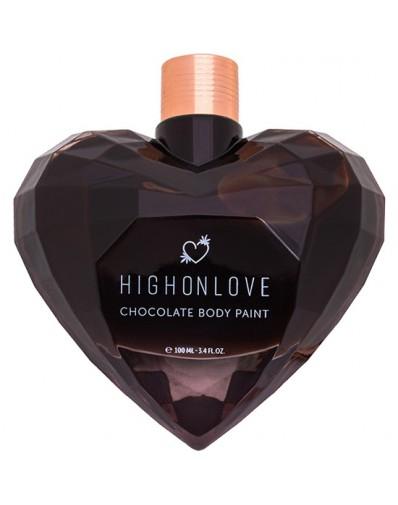 HIGH ON LOVE - PINTURA CORPORAL DE CHOCOLATE - 100 ML